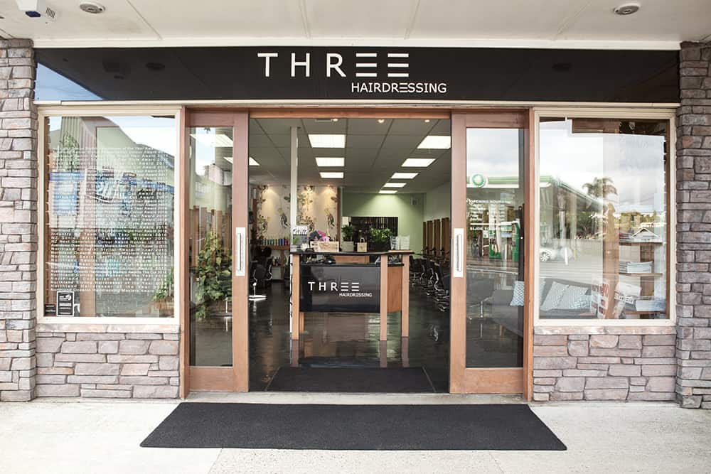 Three HAIRDRESSSING