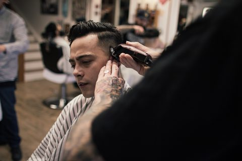 Barbering Techniques making the cut