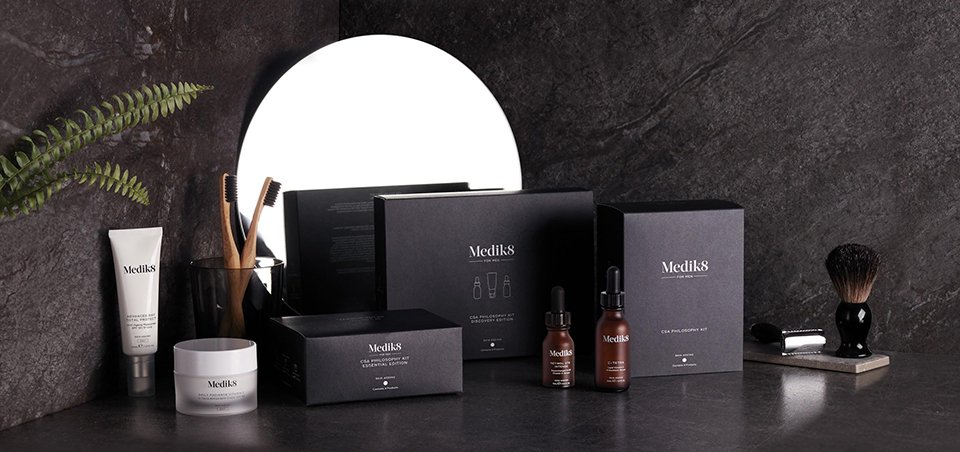 Medik8 for Men anti-aging skincare