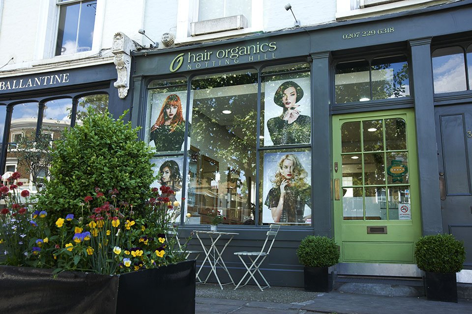 hair organics notting Hill salon